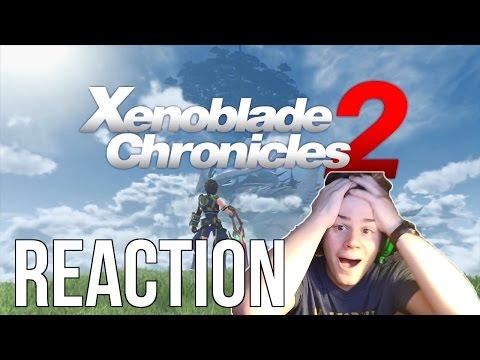 Xenoblade Chronicles 2 Trailer Reaction!