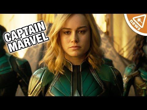 How the New Captain Marvel Teaser Reveals a Future Avenger! (Nerdist News w/ Jessica Chobot)