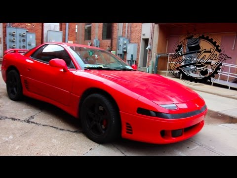 mitsubishi 3000gt vr4 review! - best sports car for $3,000? - youtube