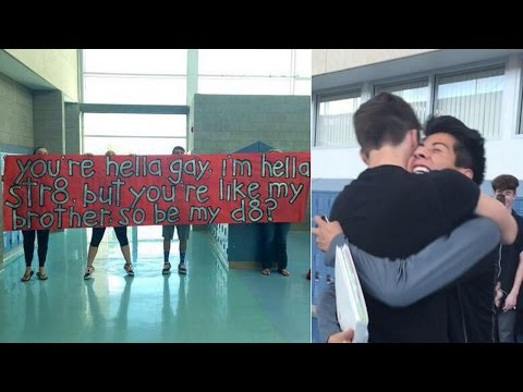Straight Guy Asks His Gay Best Friend To The Prom