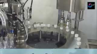 Automatic Capping Machine (servo system) with Cap Feeding Elevator
