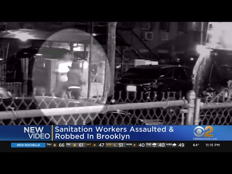 See It: NYC Sanitation Workers Attacked In Brooklyn