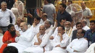 Senior leaders attend Arun Jaitley's funeral