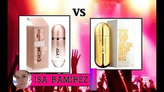 Скачать CAROLINA HERRERA Comparación De Perfumes 212 Vip VS Perfume 212 Rose Vip