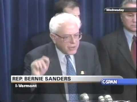 Bernie Sanders on the Bush Tax Cut Proposal (2/7/2001)