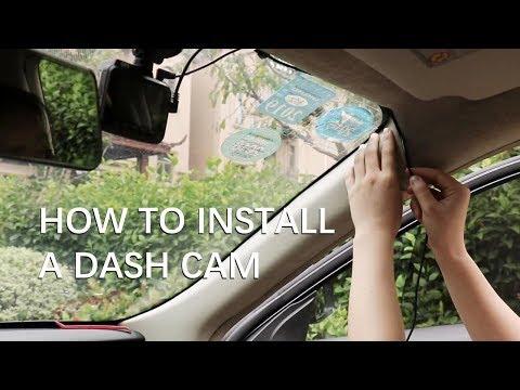 AZDOME M06 4K Dash Cam Unboxing - Dash Cam Installation Guide