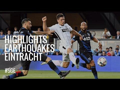 Highlights: San José Earthquakes - Eintracht Frankfurt | USA