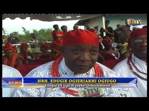 Oba Of Benin Awards Scholarship To Three Children In Iyeke-orhionmwon