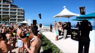 Pool Party con LilJon en Hard Rock Hotel Cancun