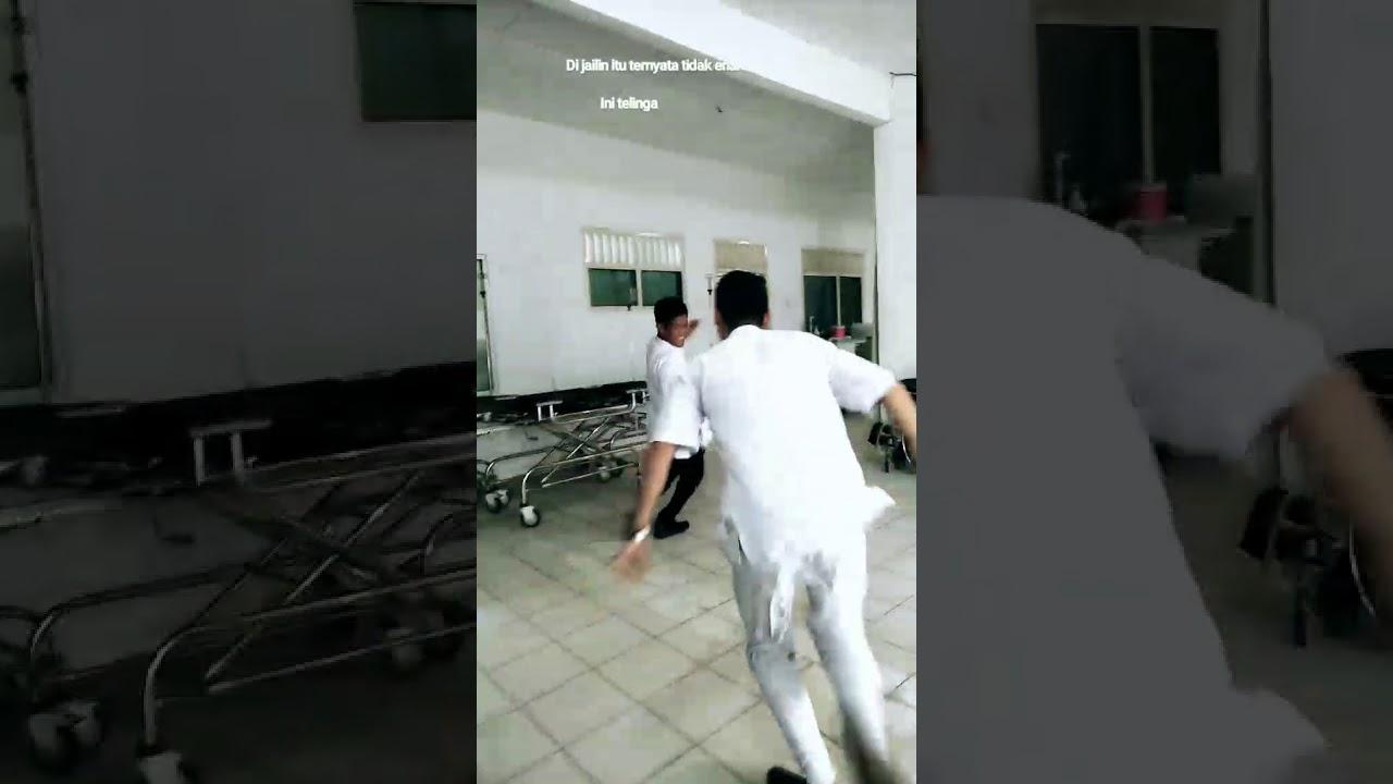 Vidio Lucu Perawat Dan Satpam Jail Youtube