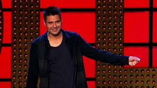 Danny Bhoy on online booking forms - Live at the Apollo: Series 10 Episode 6 Preview - BBC One