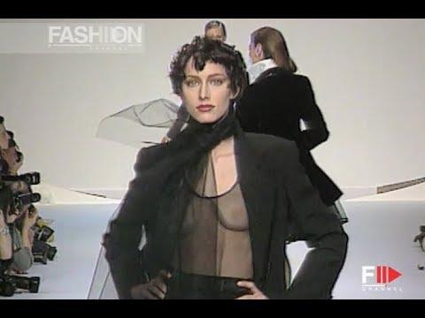 CHRISTIAN DIOR Fall 1994/1995 Paris - Fashion Channel