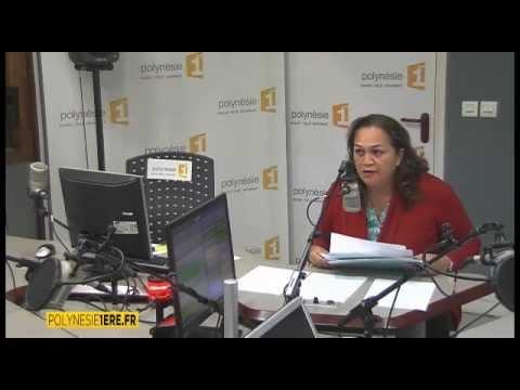 26 09 2014 Valentina Cross, invitée de Midimag sur Polynésie 1ère radio