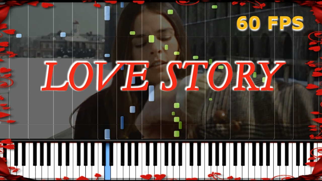 [HOW TO PLAY] Love Story Theme Advanced [Piano Tutorial] (Synthesia) SHEET  MUSIC by MusclePianist