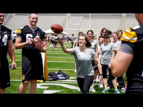 Third Annual Iowa Ladies Football Academy on YouTube