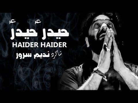 Noha 2017-18 | Nadeem Sarwar شاگرد | Haider Haider