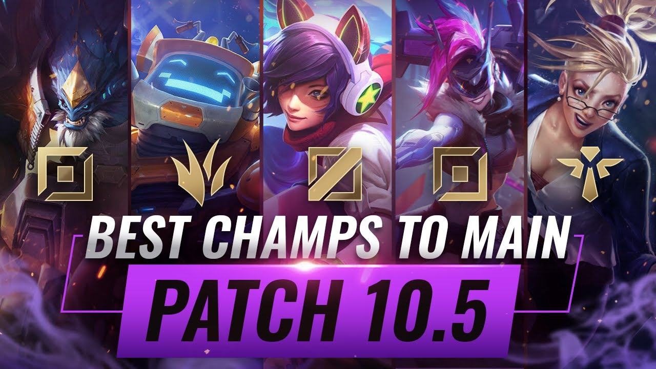 3 Best Champions To Main For Every Role In Patch 10 5 League Of Legends Season 10 Youtube