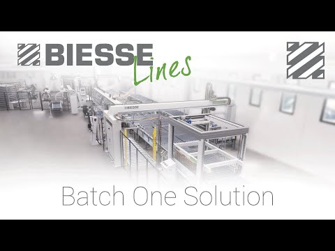 BiesseSystems Smart Factory - Batch One Production