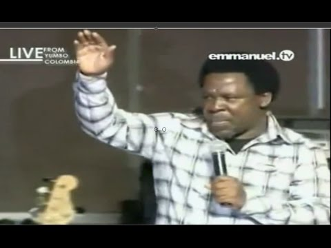 Colombia Pastors Conference With Prophet TB Joshua (Part 3/3), Emmanuel TV