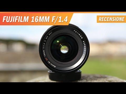 Fuji XF 16mm f/1.4 R WR: Recensione e test