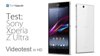 Sony Xperia Z Ultra   Test in deutsch (HD)