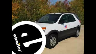 Installation of a Trailer Wiring Harness on a 2003 Buick Rendezvous - etrailer.com