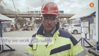 Why we work with safety: Johan Karlström, CEO, Skanska