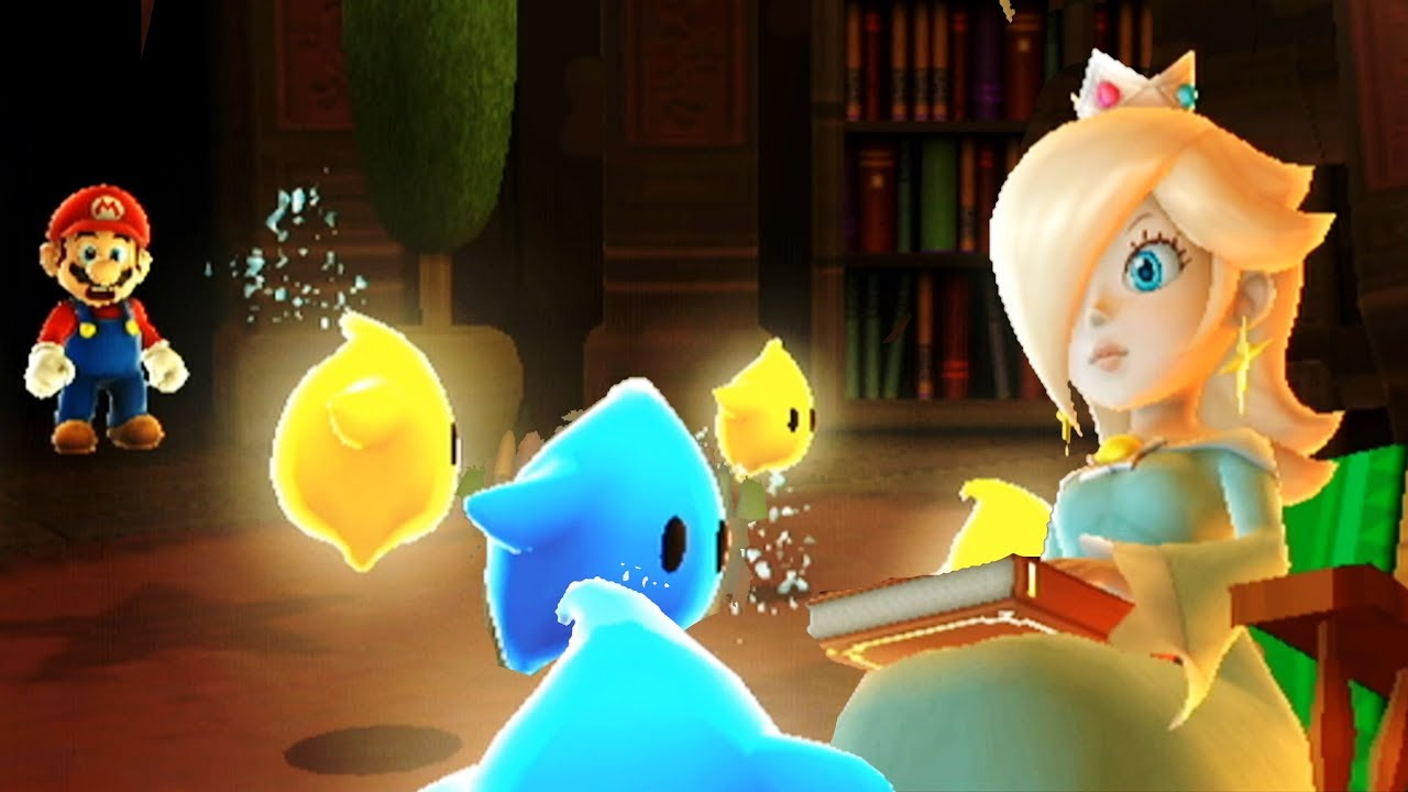 Super Mario Galaxy #52 THE END Rosalina Origins & Secret Pic/Message - All  121 Stars 4k Walkthrough - YoutubeDownload pro