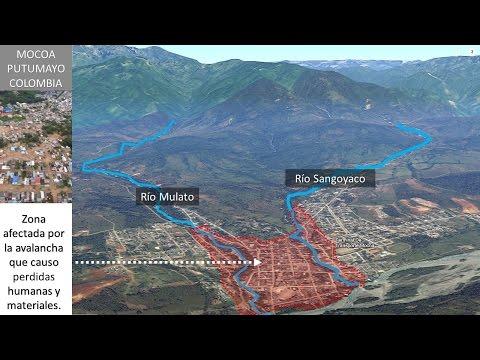 Avalancha en Mocoa   Posibles causas   Un antes y después
