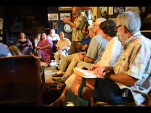 Henry Curtis at Pahoa Village Museum 7/27/12 part 1/4