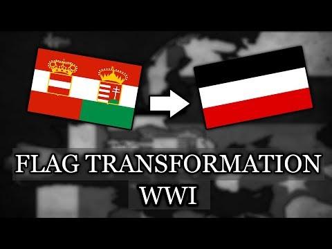 WW1 Flag transformation