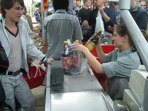 Buying Beer In Russia