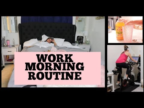 Work Morning Routine 2019 Get ready with me!