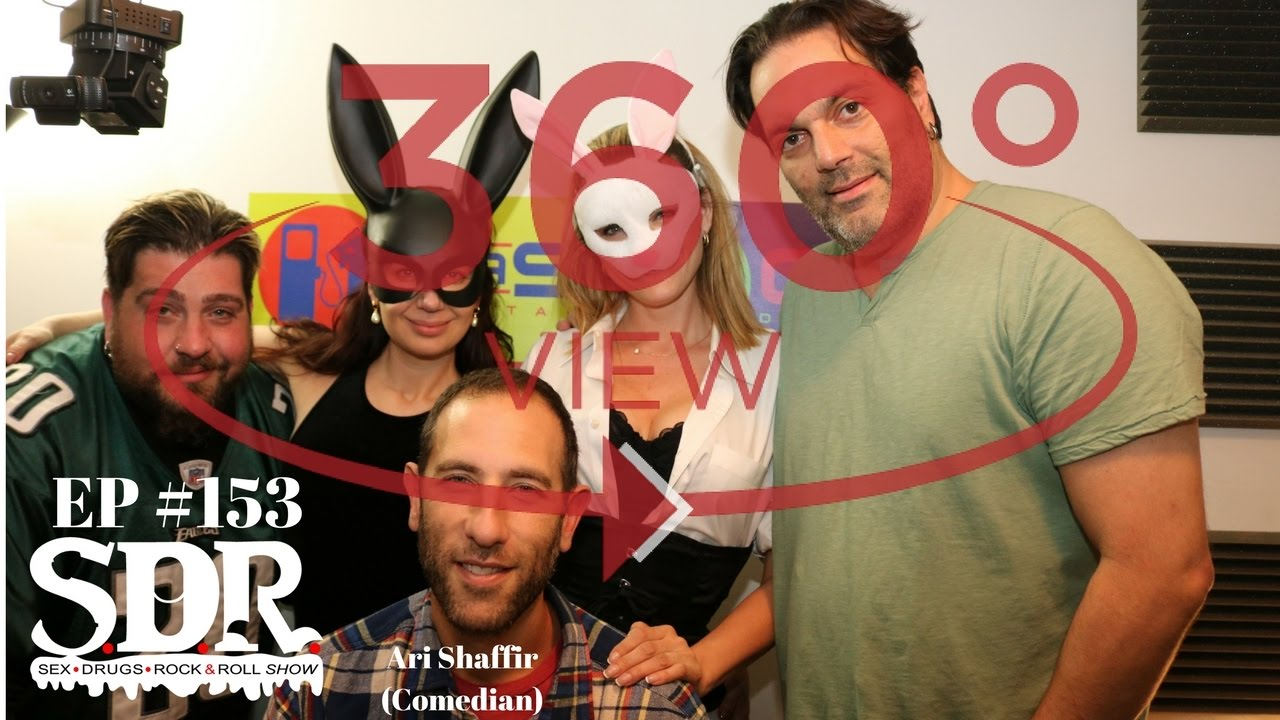 Ari Shaffir & hookers - The Oralympics - 360VR The SDR Show highlight by  TheSDRShow