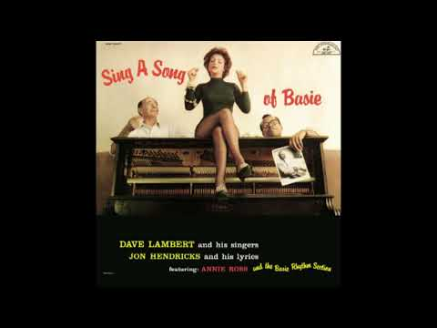 Lambert, Hendricks & Ross ‎– Sing a Song of Basie (1958) [2001 edition]