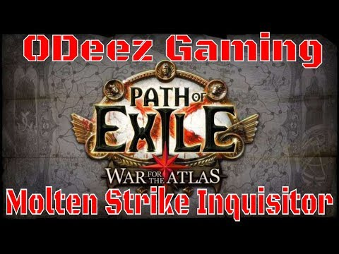Path of Exile 3.1 - Molten Strike Claw Inquisitor - Round 2 - Lab Run - Be a Maverick - Let's Play