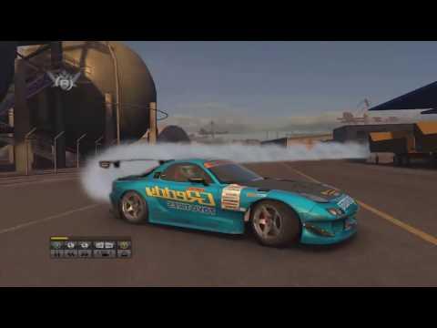 RX7 YOKOHAMA A1 Power Drift 720P0