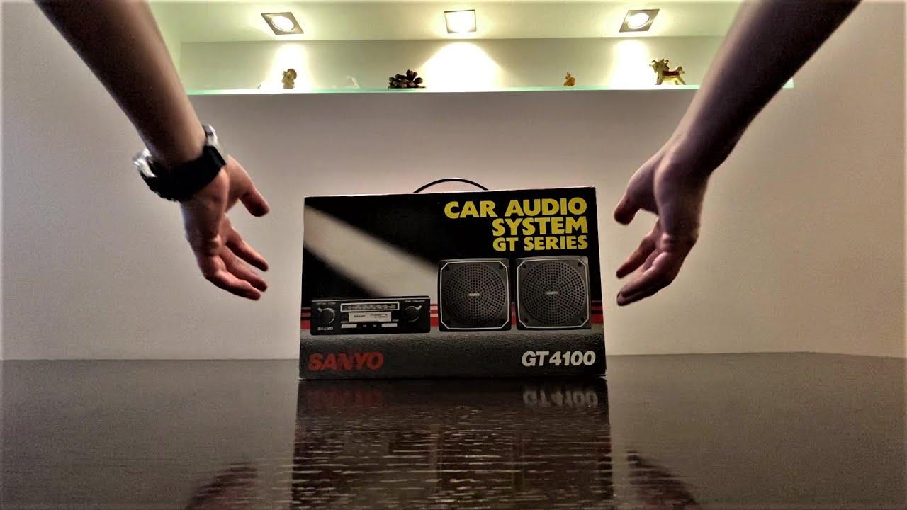 !!!NEW!!! SANYO GT 4100 CAR AUDIO SYSTEM GT SERIES 1987 в 2021 КАПСУЛА ВРЕМЕНИ, ПЕРВЫЙ ОСМОТР.
