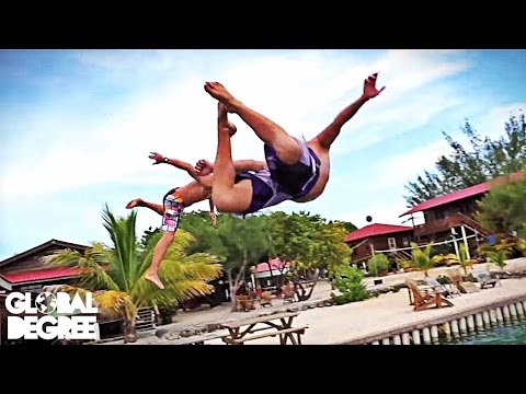 Belize & Honduras - White Water Rafting and Backflips
