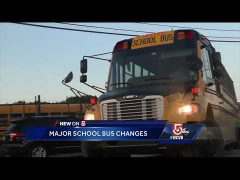 Boston to consolidate, change school bus routes, stops