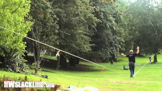 NWslackline Guide to longline, Part 5: Walking