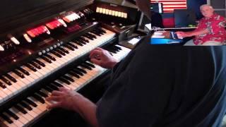 Baldwin PR200 Organ Bob Jennings plays  Doll