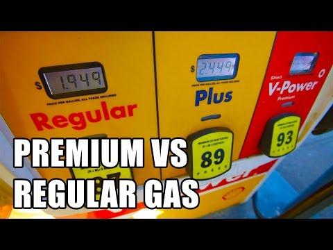 Premium vs Regular Gas: High vs Low Octane Gas Explained