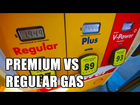 Premium vs Regular Gas: High vs Low Octane Gas Explained