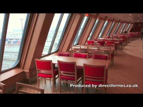 Onboard Spirit of Britain ferry with P&O Ferries
