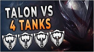 Challenger Talon Plays Against 4 Tanks | Season 9 is SO FUN!