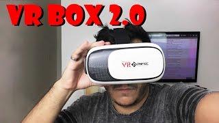 VR BOX 2 0 Primeiras Impressões   Unboxing