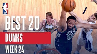 Best 20 Dunks From Week 24 of the NBA Season (Markelle Fultz, Dennis Smith Jr., and More!)