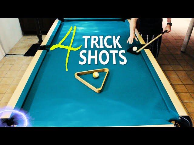4 Pool Trick Shots: Volume 7