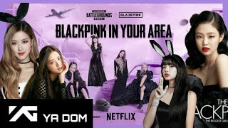 BLACKPINK for Elle Magazine US…